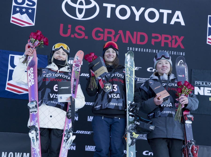Monster athletes at the 2018 U.S. Grand Prix stop in Aspen