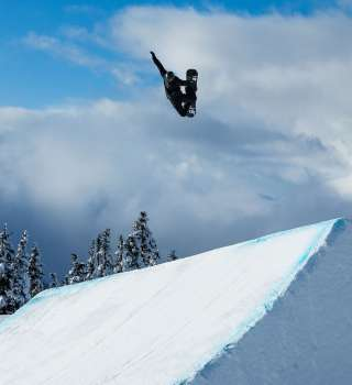 Olympic Training at Whistler Terrain Park, BC. Max Parrot, Snowboarding, Slopestyle, whistler blackcomb,