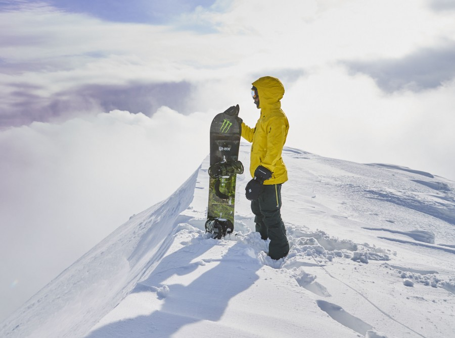 Lewis Hamilton spends an action-packed week week in Niseko, Japan - hiking, snowboarding, ski-doos, ski-bikes and surfing accompanied by some of the world's best snowboarders