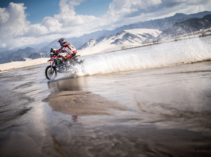 Monster athletes at the 2018 Dakar in Peru