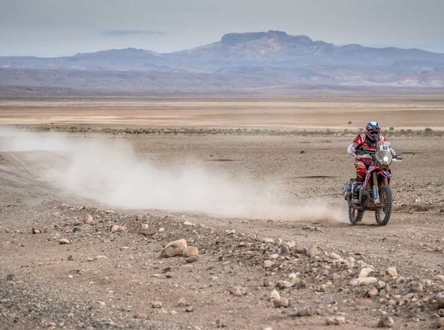 Jose Ignacio Cornejo at the 2018 Dakar