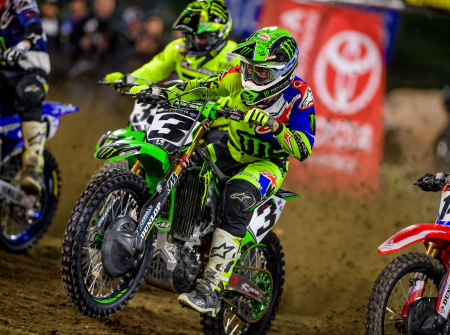 Images from the 2018 Supercross Triple Crown Challenge in Anaheim, CA