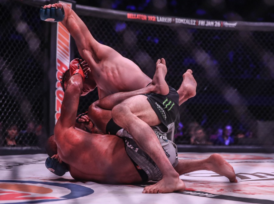 Image from Bellator 192 at the Forum in Inglewood, CA