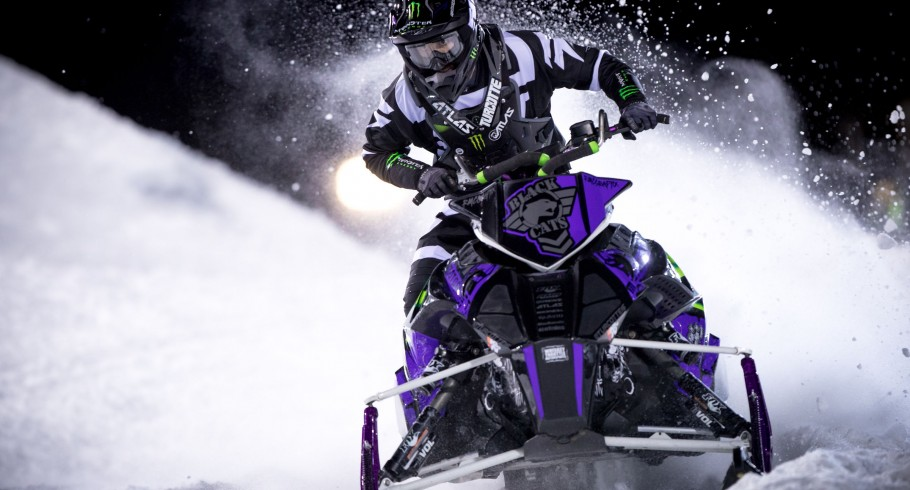 Snowmobile Speed images from Winter XGames.