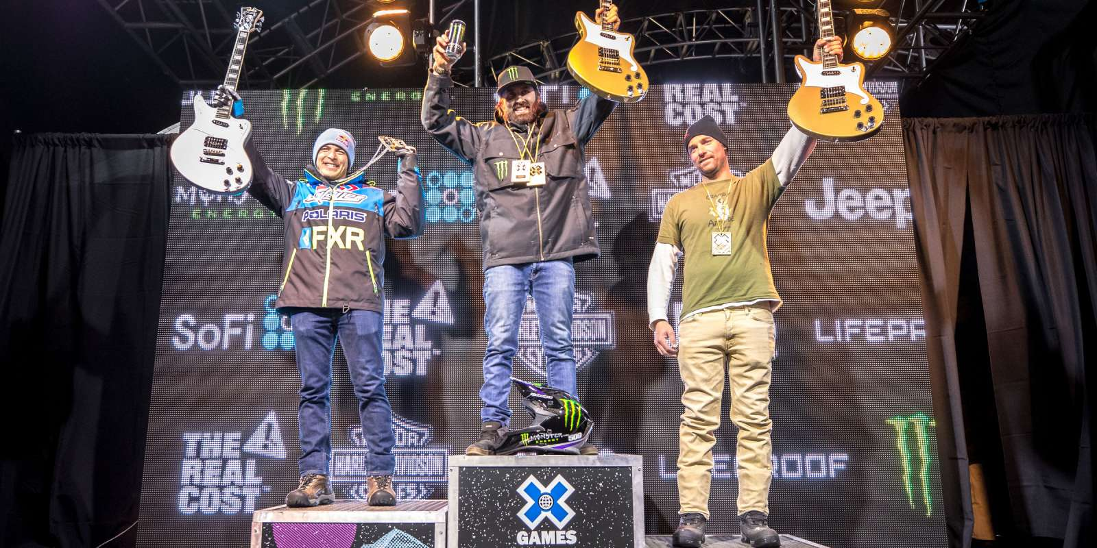 Images from Winter X Games Snowmobile 2018 Freestyle Gold.