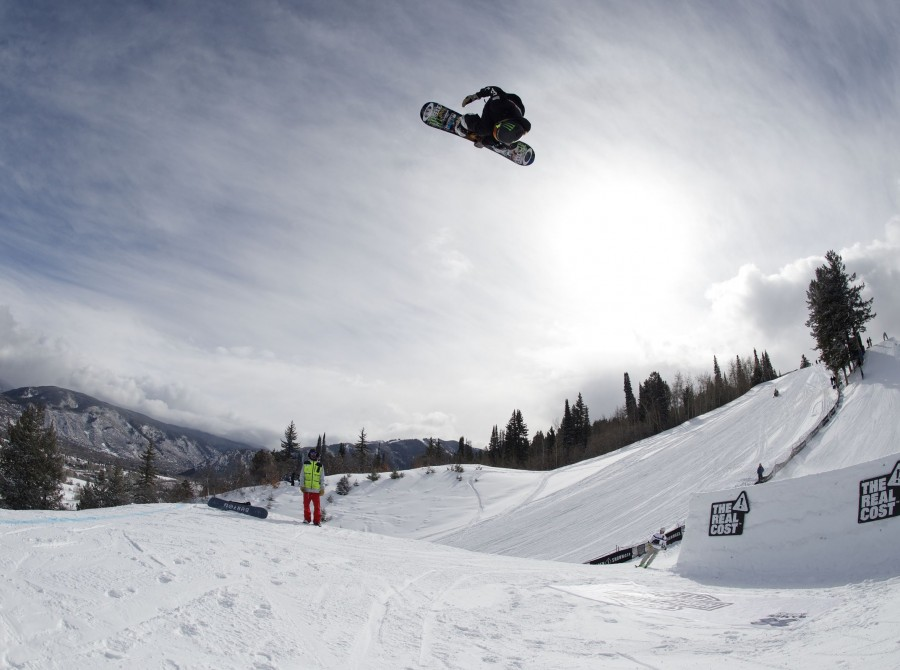 Images from Snowboarding Big Air / Slopestyle X Games, Aspen
