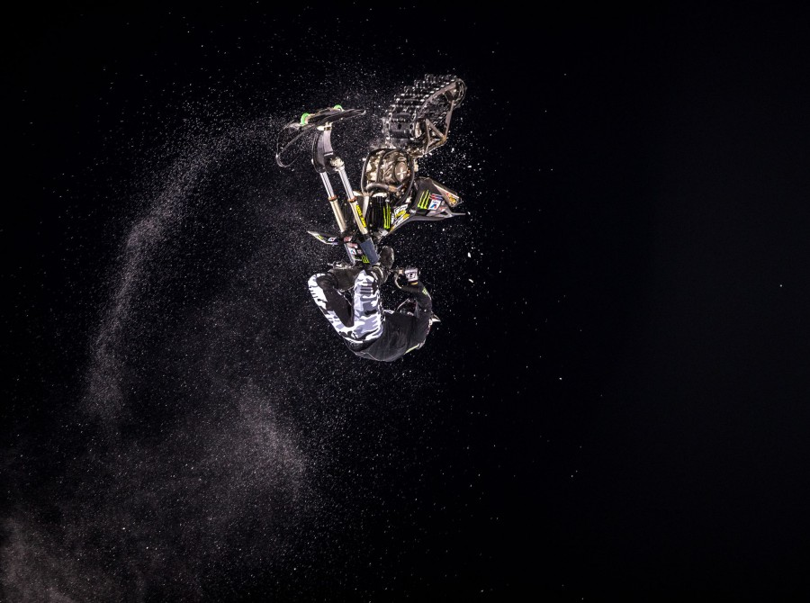 Images from Sunday's Snow Bike Winter X Games, Aspen