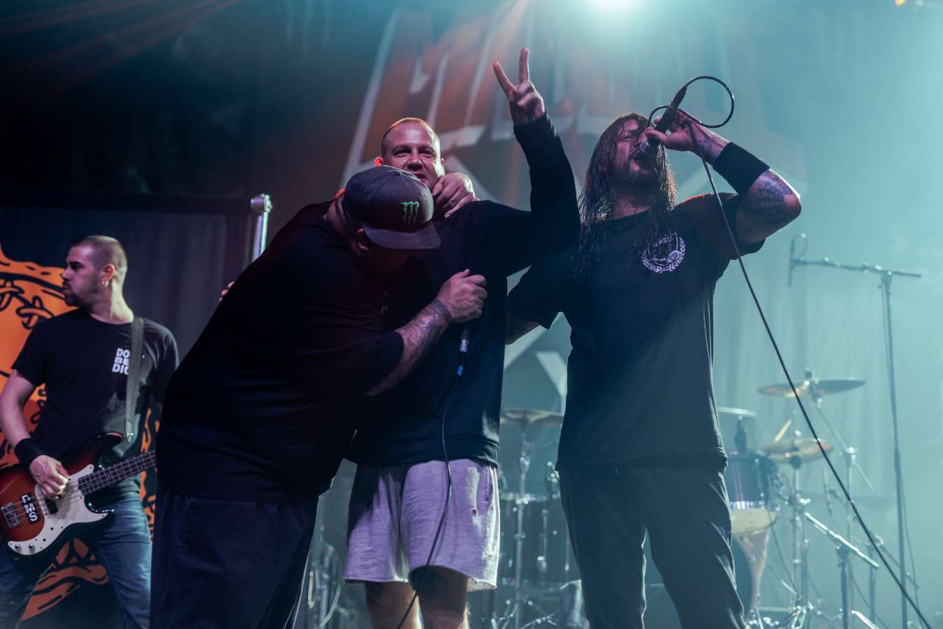 Madball performing live on Persistence Tour 2018 in Oberhausen, Germany