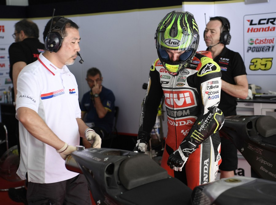 Cal Crutchlow Sepang official test