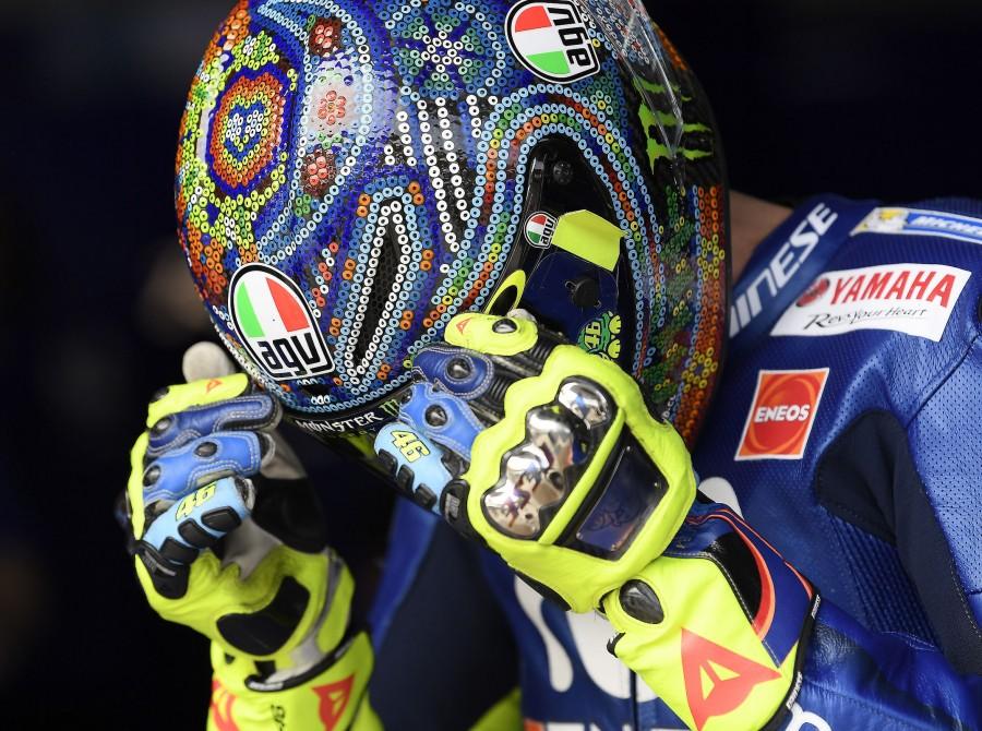 Valentino Rossi Sepang official test
