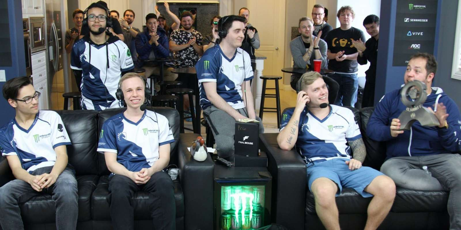 Photos of Team Liquid CSGO at CS_Summit 2 in Walnut, CA at the Beyond The Summit House