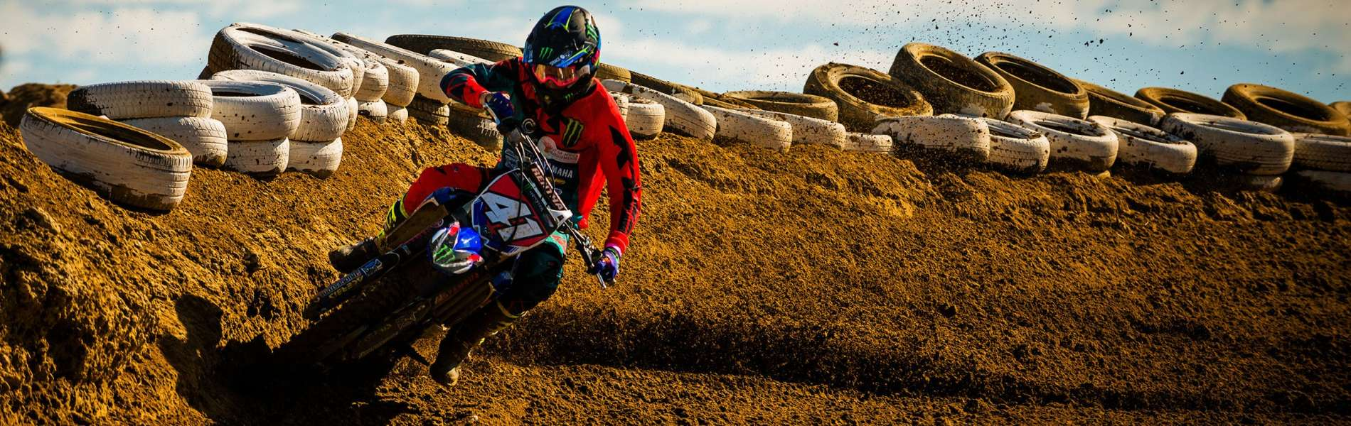 Monster athletes compete in the 2017 South Africa Motocross Nationals for Round 2 in Cape Town, South Africa