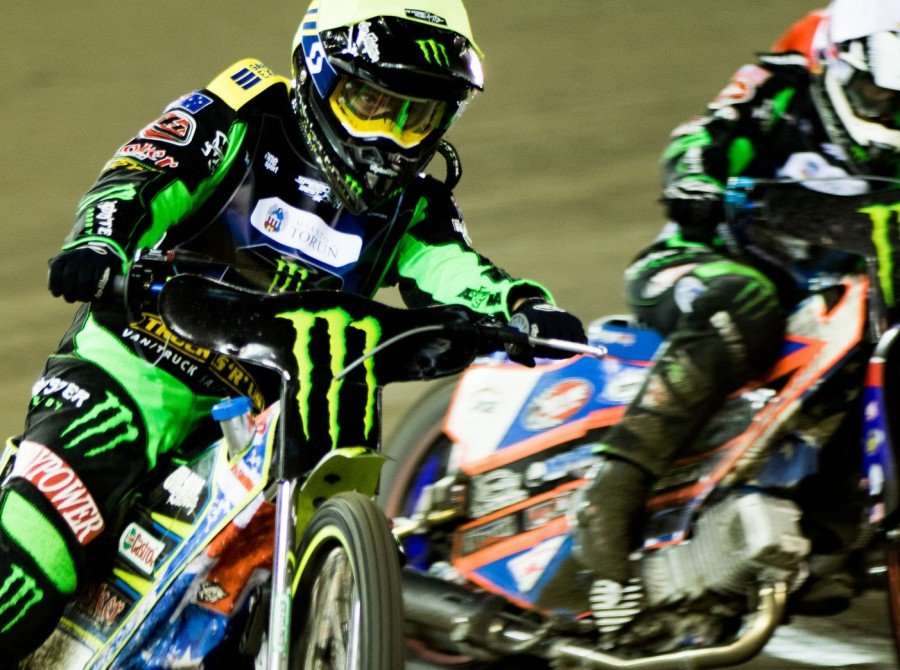 Pictures from round 1 of 2017 Speedway Best Pairs series in Torun, Poland - Greg Hancock and Chris Holder in action