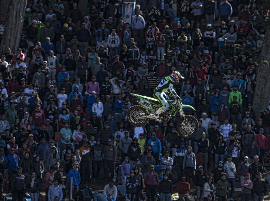 Clement Desalle at the 2017 Grand Prix of Argentina