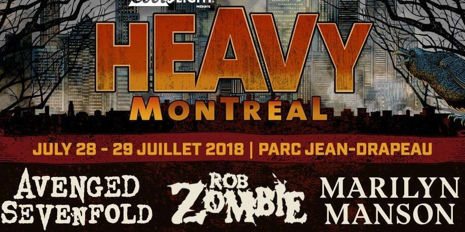 2018 Heavy Montreal Poster for event page