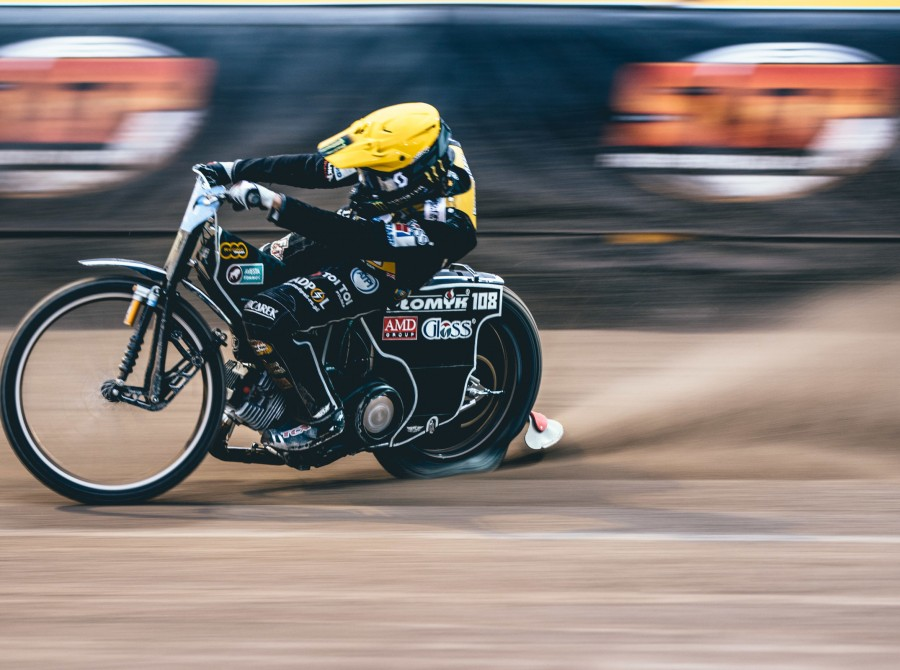Images of Tai Woffinden from the Latvian SGP