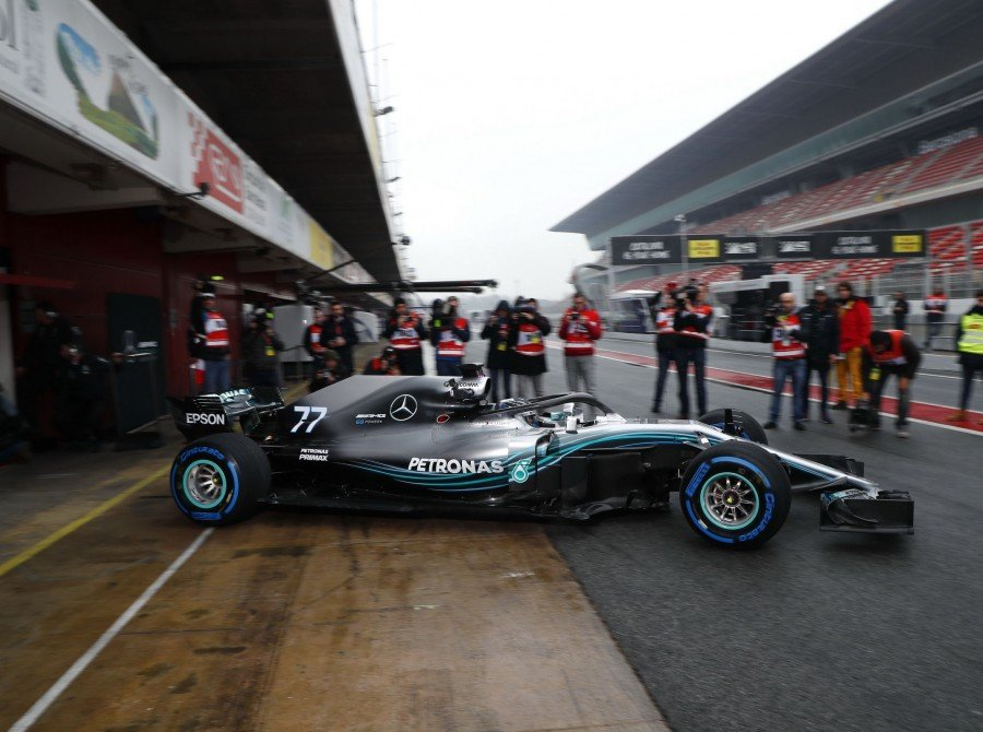 Images from the first F1 pre-season test of 2018