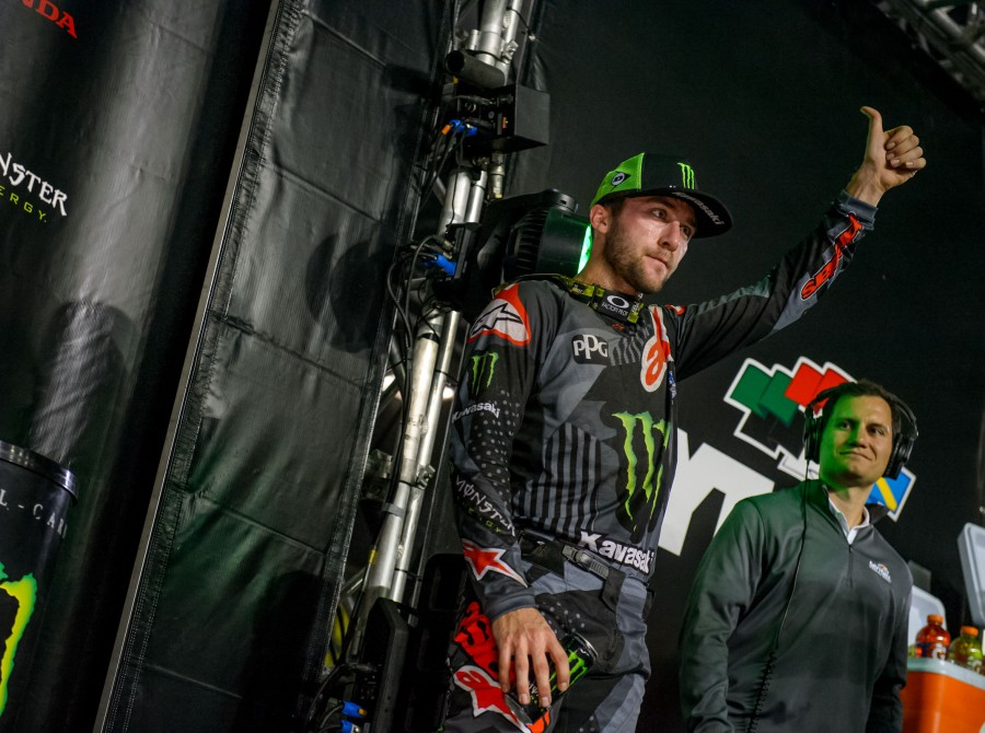 Images from the 2018 Supercross race in Daytona, FL