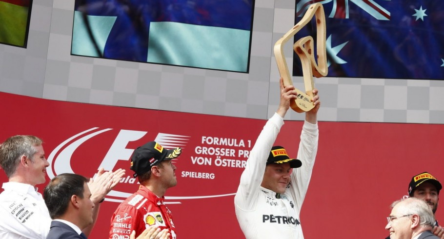 Victory images from the 2017 Austrian Grand Prix in Spielberg