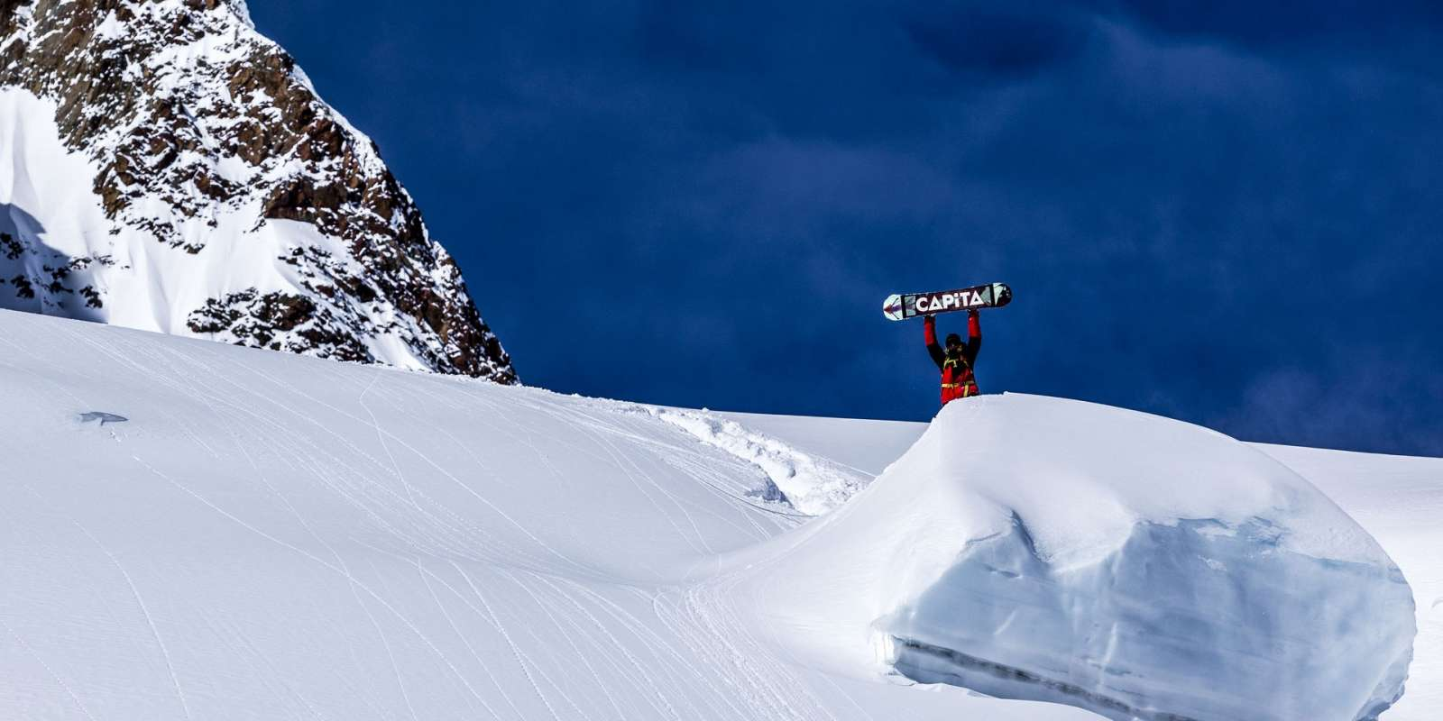 Simon Gruber in action at Click On The Mountain, Italy