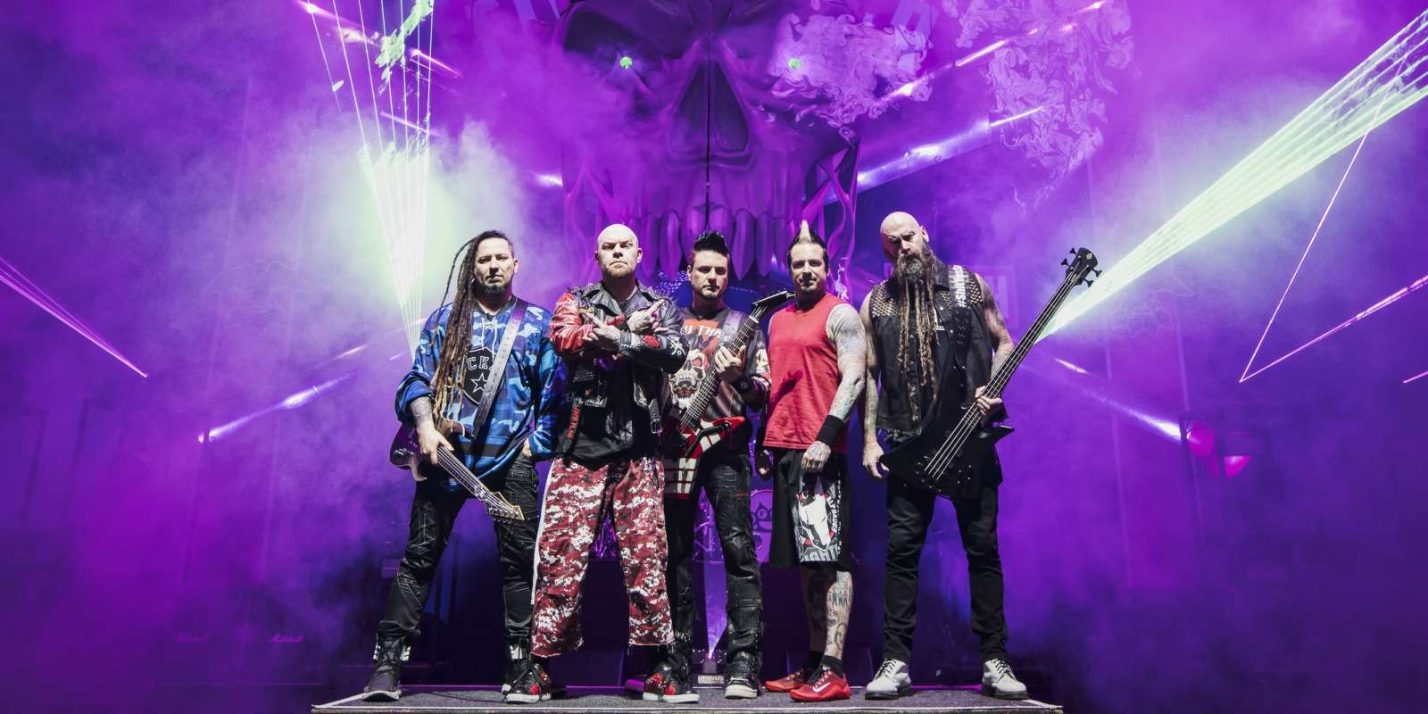 Five Finger Death Punch Unveil New Album Massive Summer Tour
