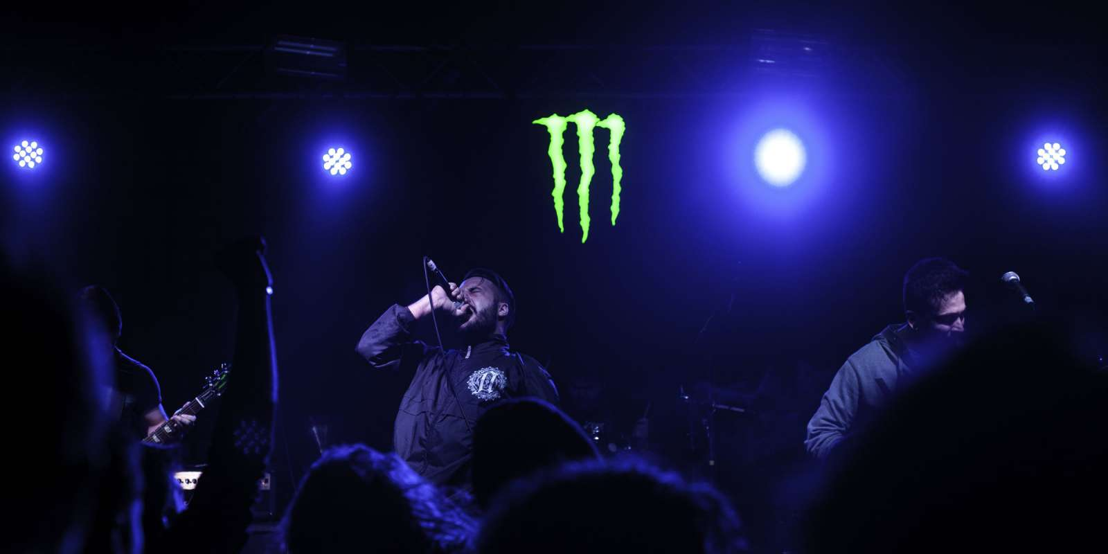 Monster Energy at the BlankFile and Violent Chapter concert