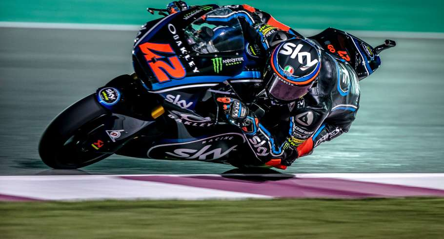 Francesco Bagnaia at the 2018 GP of Qatar
