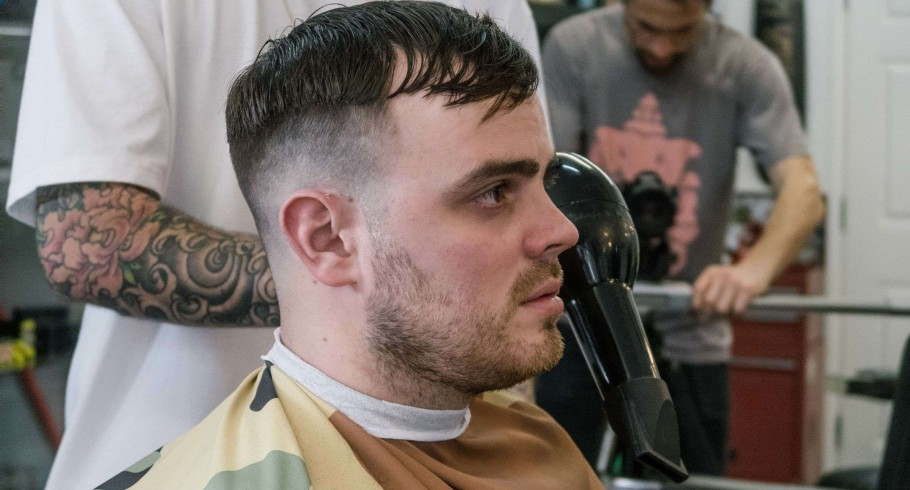 First Episode of Fresh Cuts. Photos from behind the scene