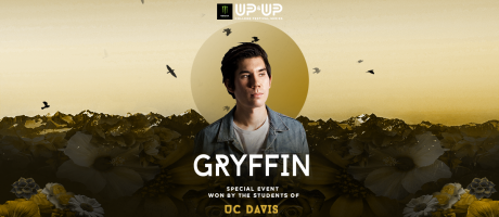 Up and Up festival winner announcement graphics