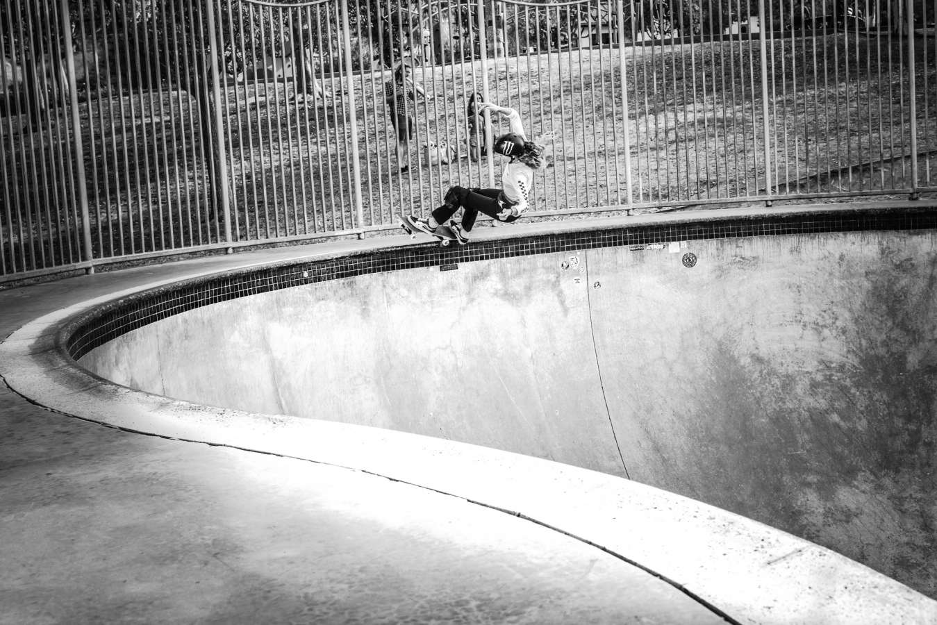 Image of Monster skateboarder Lizzie Armanto
