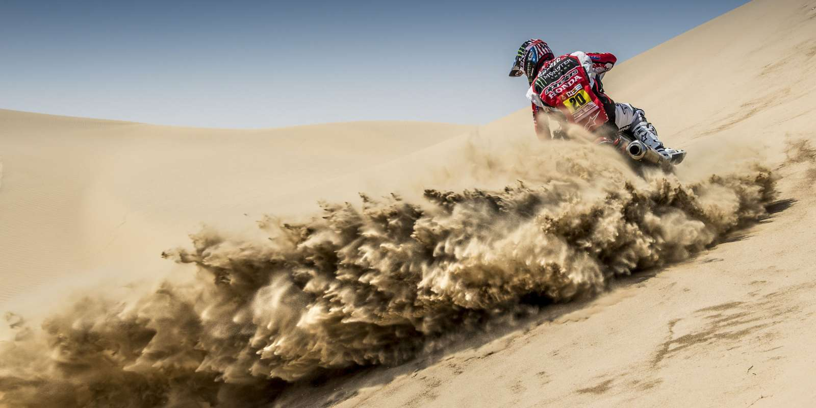 Ricky Brabec at FIM Rally in Abu Dhabi, UAE