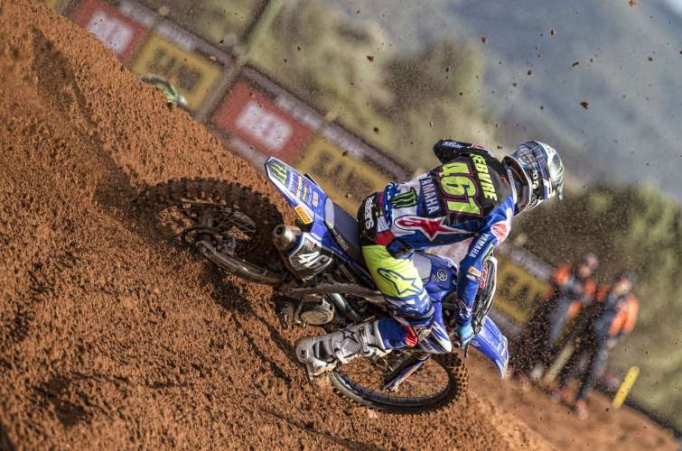 Romain Febvre at the 2018 Grand Prix of Comunitat Valenciana