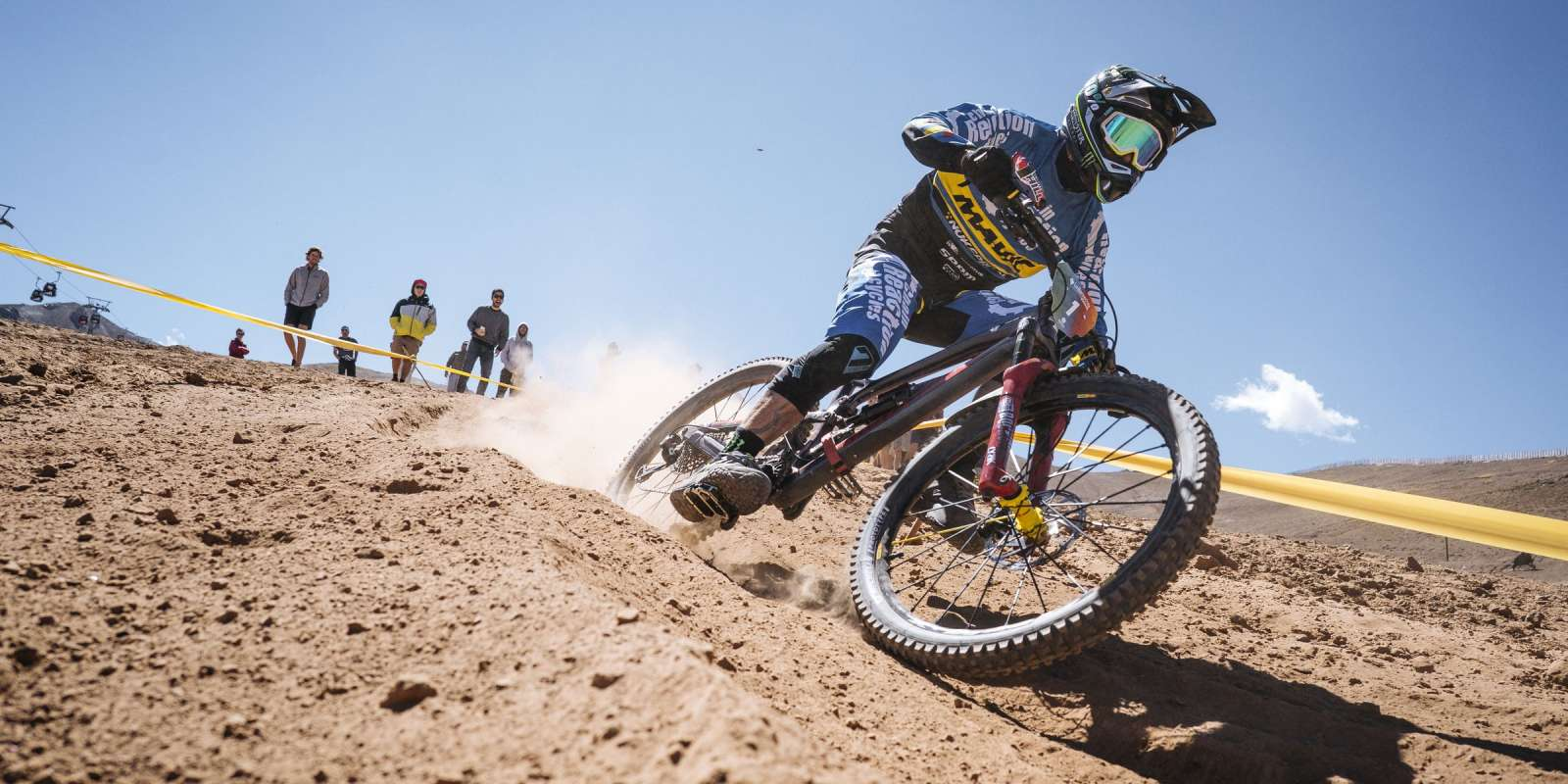 Images from Enduro World Series in Lo Barnechea, Chile