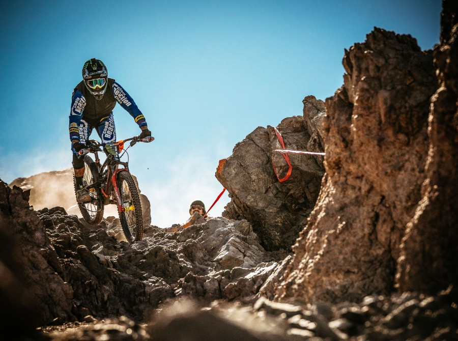 Images from the practice run at the Lo Barnechea Montenbaik Enduro