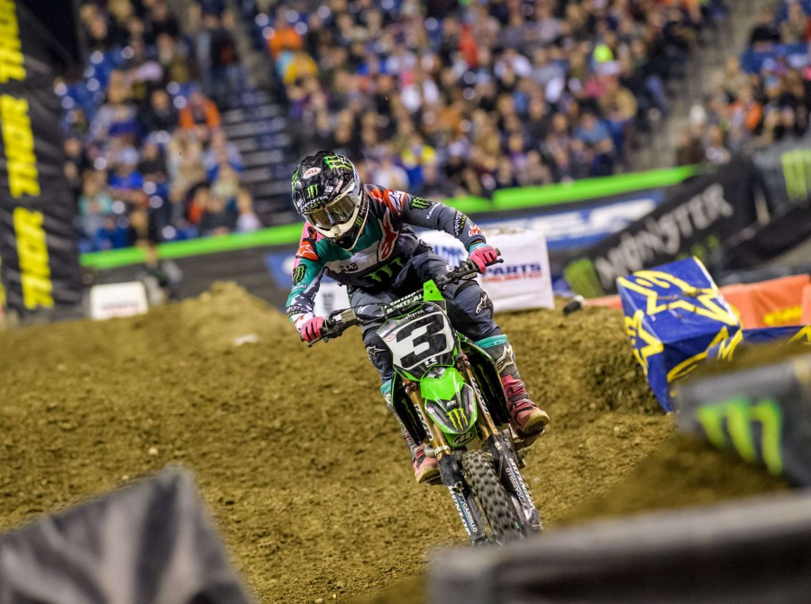 The 2018 Monster Energy Supercross Series has moved to Indianapolis for the twelfth round of the series, the 2018 Indianapolis Supercross