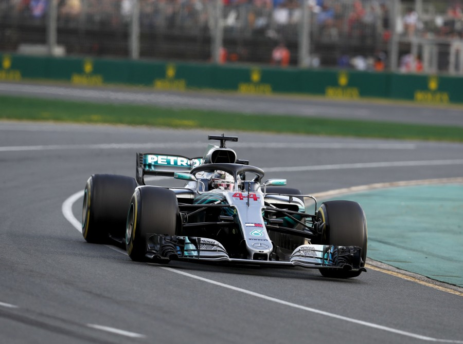 Sunday images from the 2018 Australian Grand Prix