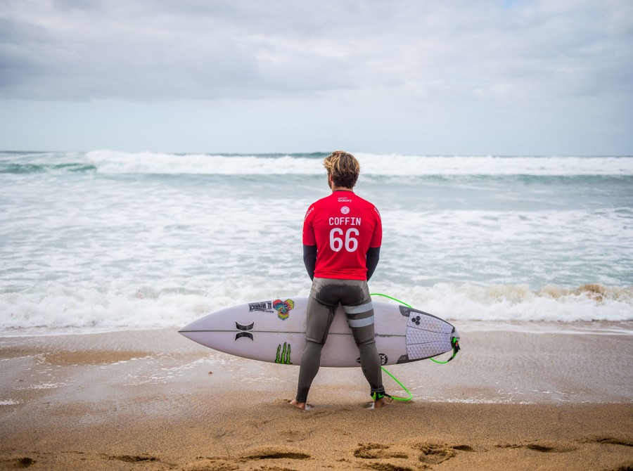 Conner Coffin on the southeast corner of Australia, just outside of the sleepy surf town of Torquay, sits Bells Beach, which hosts the third stop of the WSL's championship tour, and acts as a catcher's mitt for Southern Ocean swells.
