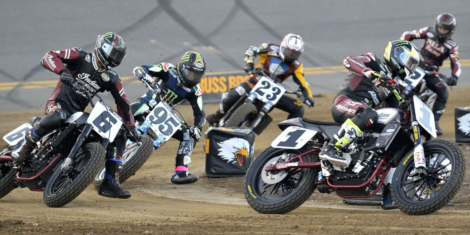 Photos from the American Flat Track event at Daytona Beach, FL