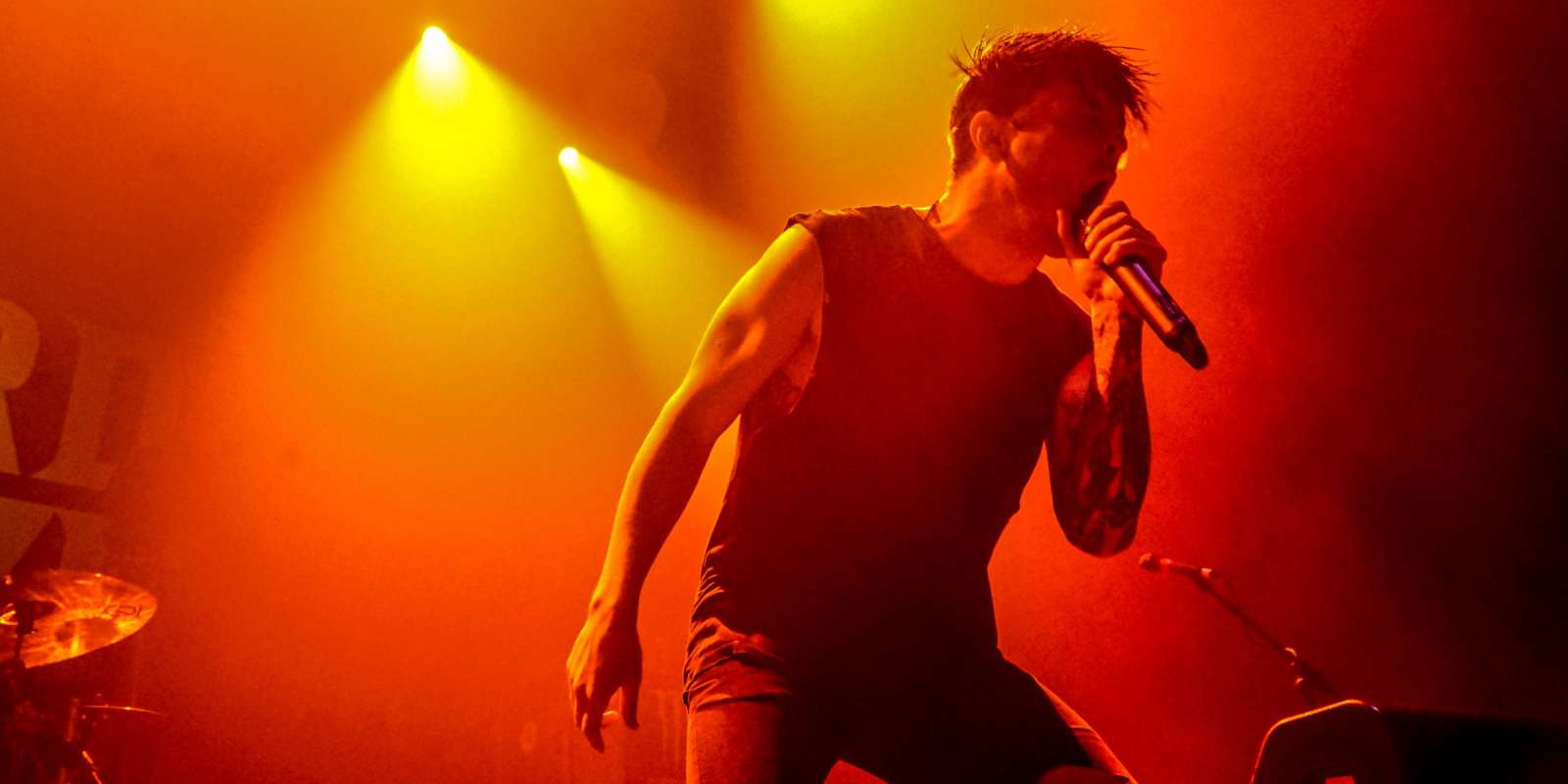 The Word Alive performing at The Novo in Los Angeles on 12 November 2017