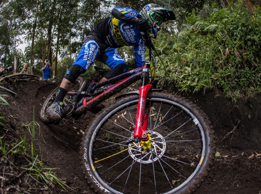 Image from the 2018 Enduro World Series in Manizales, Colombia