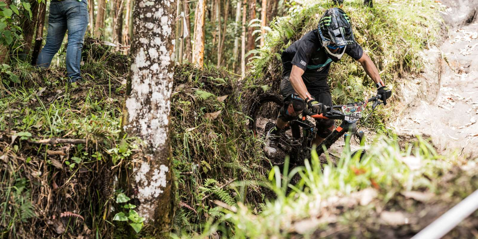 Action shots from EWS 2 race in Colombia