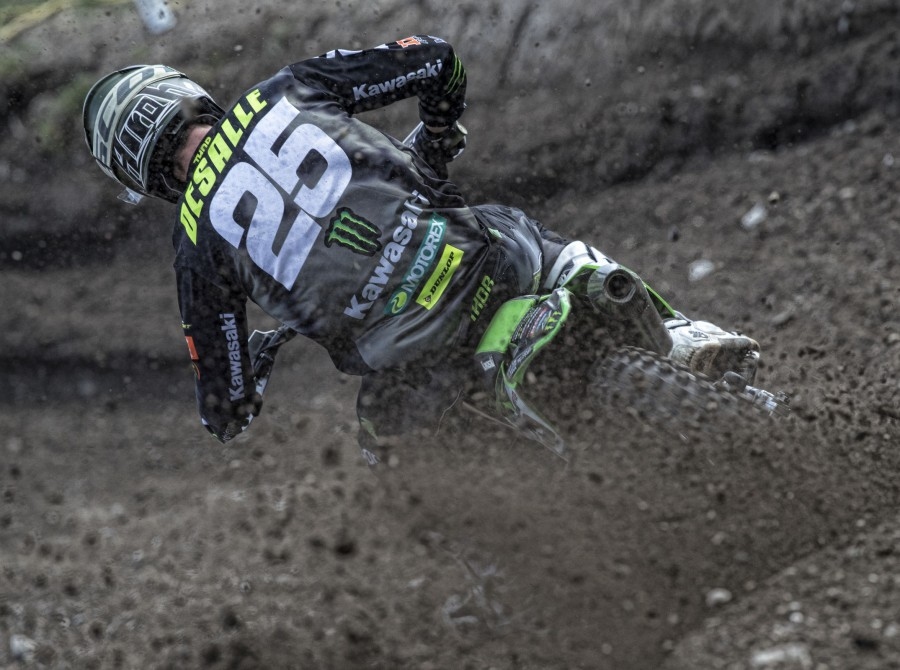 Clement Desalle at the 2018 Grand Prix of Trentino