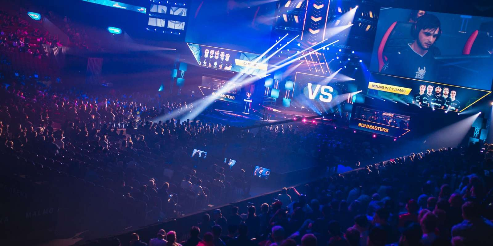 Photos of the event at Dreamhack Masters in Malmo, Sweden