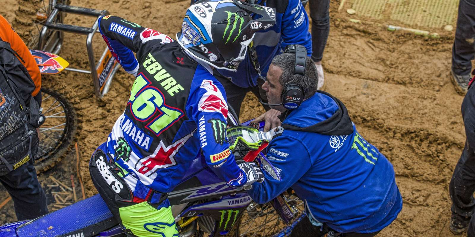 Romain Febvre at the 2018 Grand Prix of Portugal