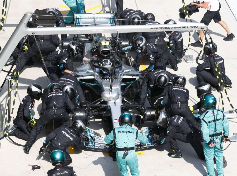 Sunday images from the 2018 Chinese Grand Prix