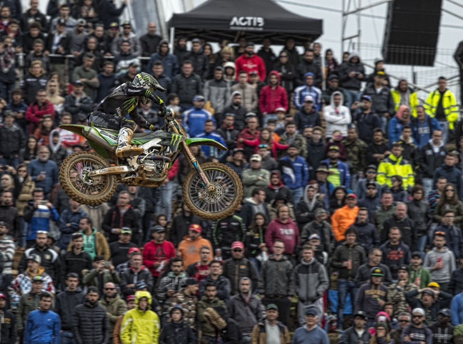 Clement Desalle at the 2018 Grand Prix of Portugal