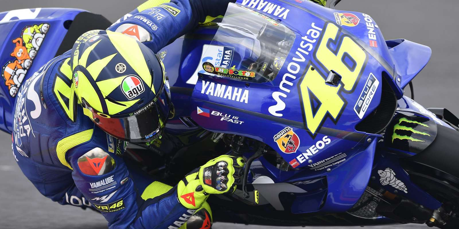 Valentino Rossi at the 2018 GP of Argentina