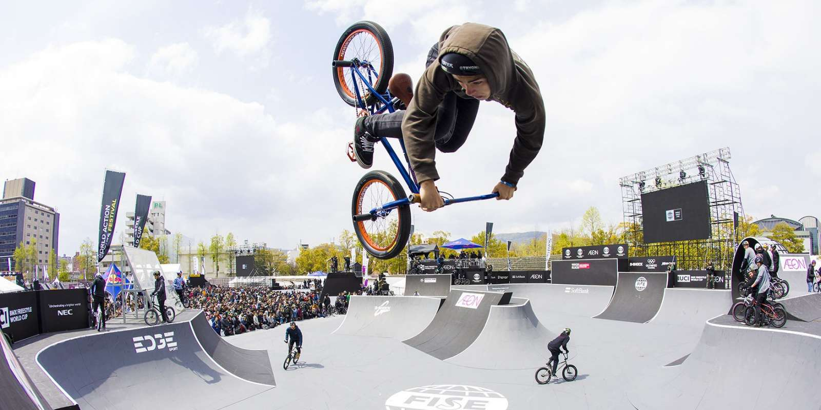 First stop of the FISE World Series in Hiroshima, Japan