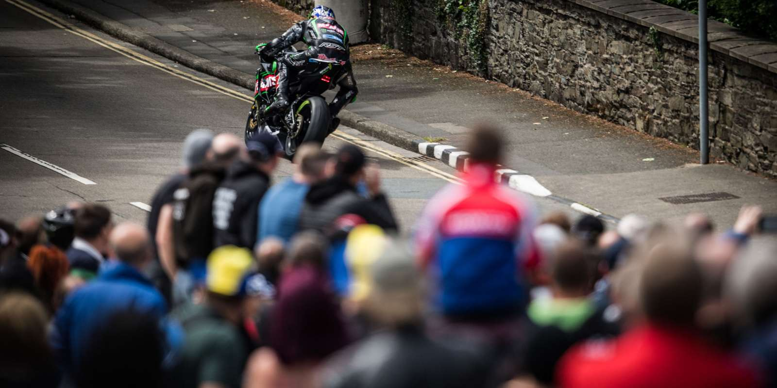 Images from the Monster Energy Supersport TT - Race 1