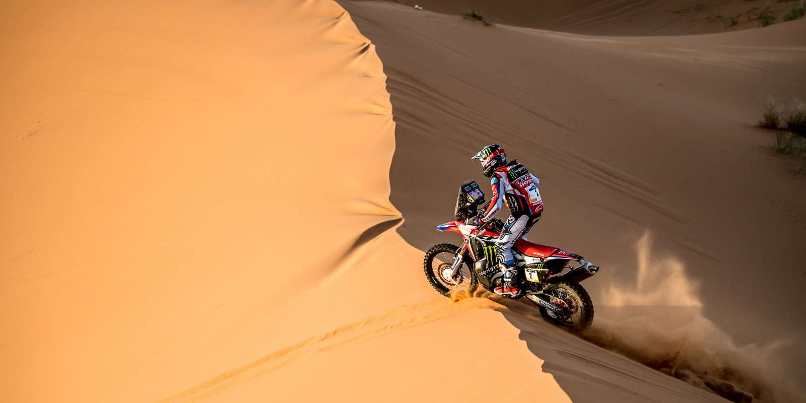 Kevin Benavides at the 2018 Merzouga Rally